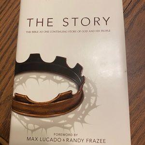 "NWOT Hardback book ""The Story"""